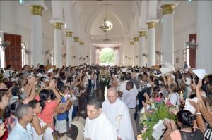 a Catedral San Jerónimo recibió  al Padre León 001